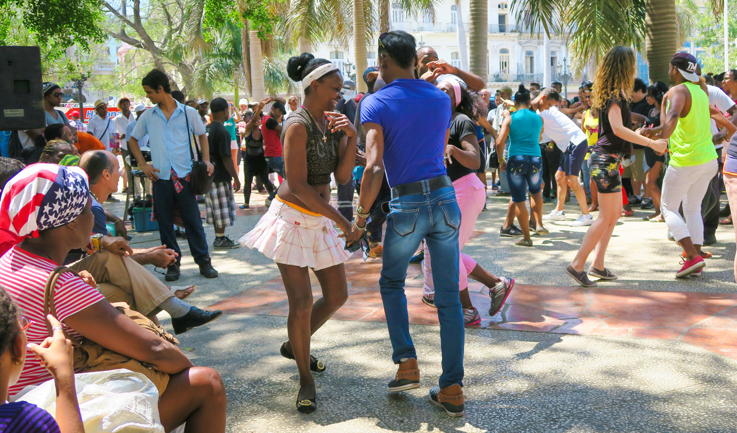 Learn to salsa dance from the locals