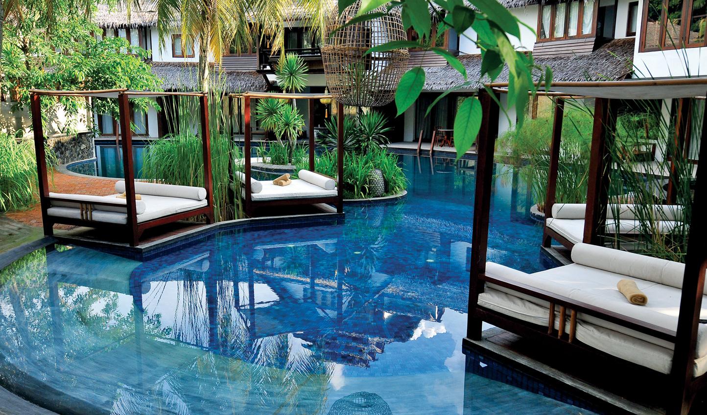 Retreat to Villa Samadhi after walking Kuala Lumpur