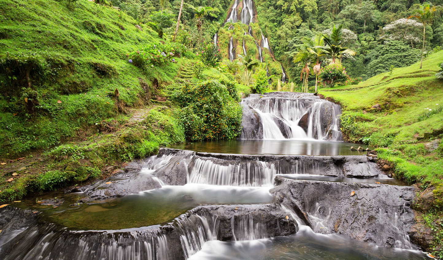 Your trekking in Cafetero will take you to secluded waterfalls