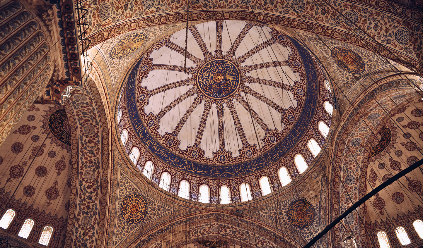 Marvel at the wonder and intricate design of the Blue Mosque