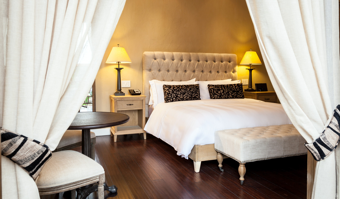 Step into your luxurious bolthole at the Bastion