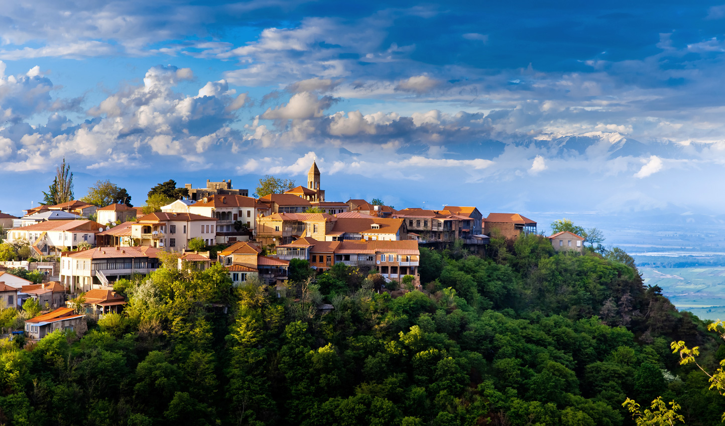 Discover hilltop towns and vineyard-rich valleys in Georgia