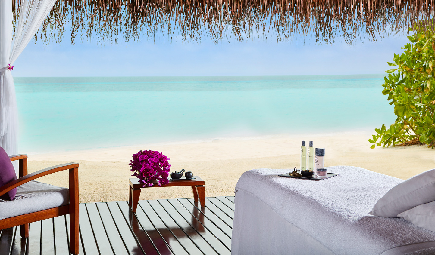 Enjoy a soothing massage to the sound of waves gently rolling in
