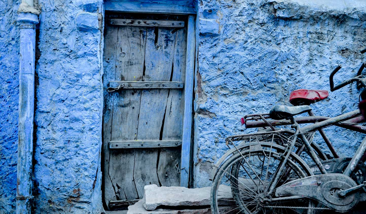 Stroll the blue-hued streets and see life through the eyes of a local