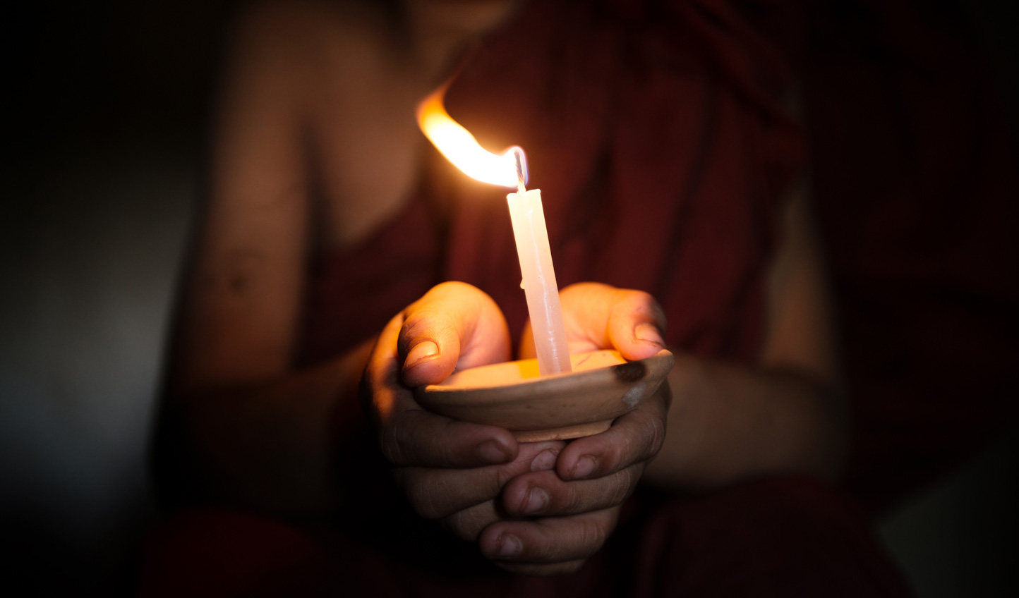 Visit local monks for a special blessing ceremony