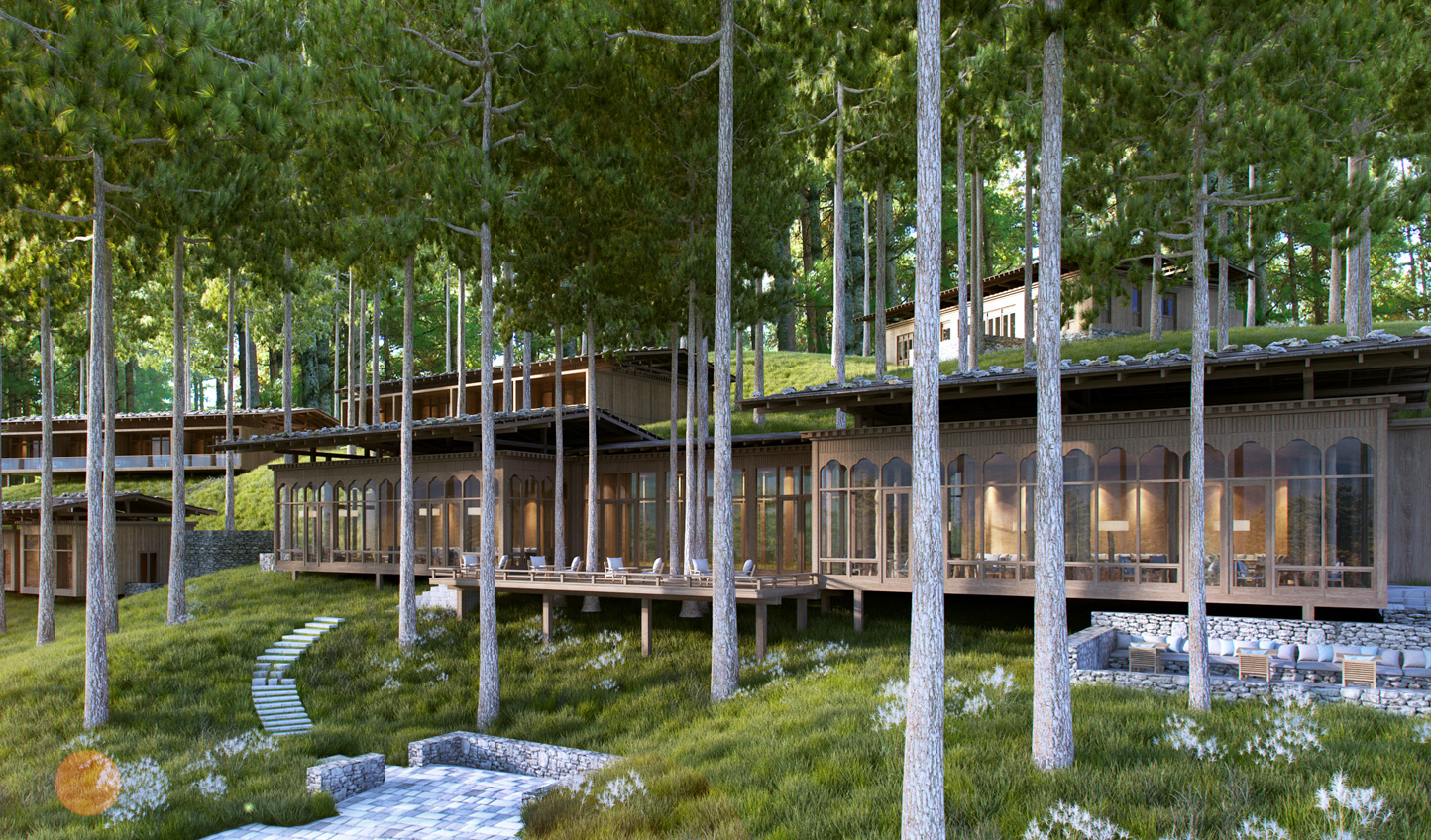 Hideaway in the forests at Six Senses Bumthang