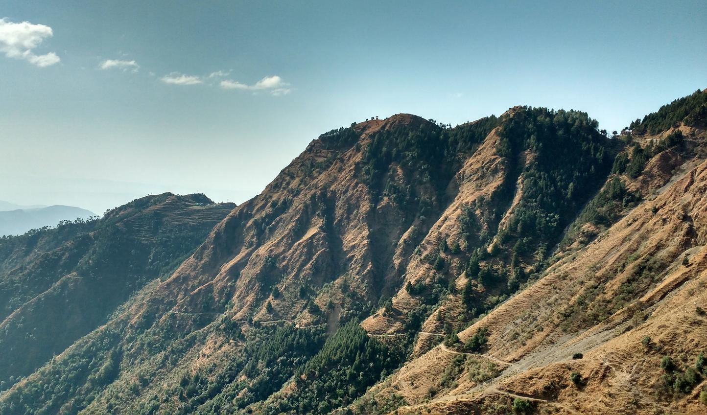 Take a deep breath of fresh mountain air