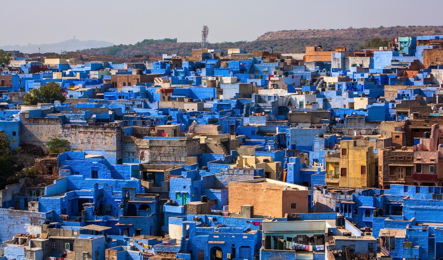 Explore the cobalt hues of Jodhpur