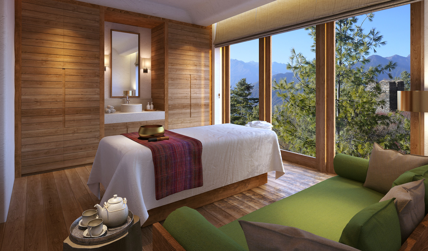 Rejuvenate with a soothing massage at Six Senses Paro