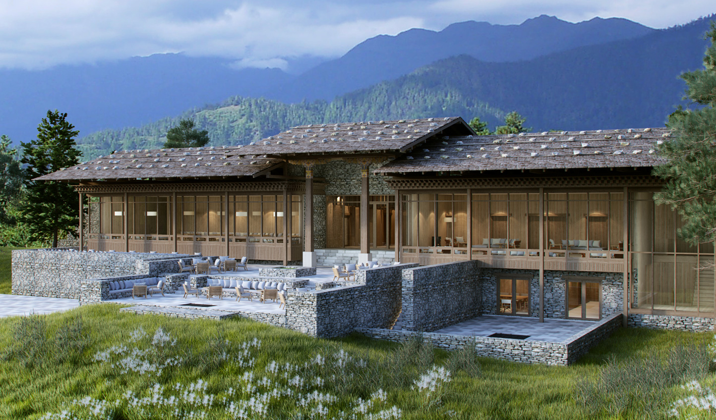 An architectural masterpiece awaits at Six Senses Paro