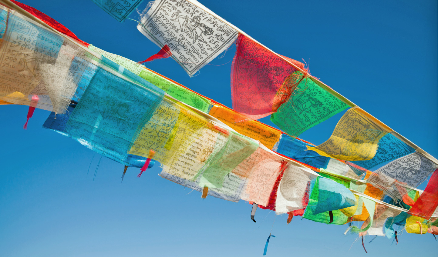 Leave your mark in Bhutan by hoisting your own prayer flag