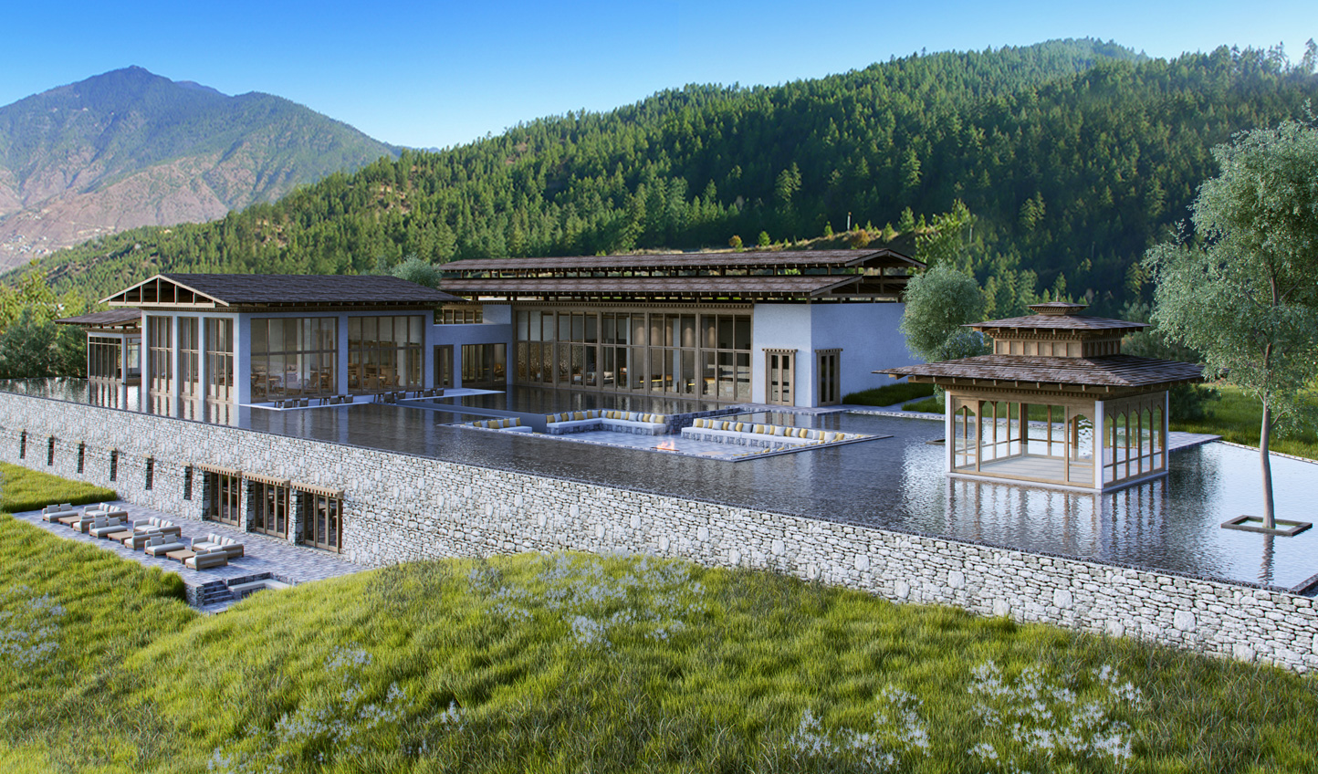Escape to the peace and tranquility of Six Senses Bhutan