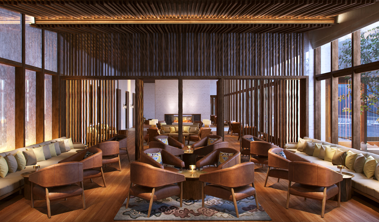 Head to the bar at Six Senses Thimpu for an evening aperitif