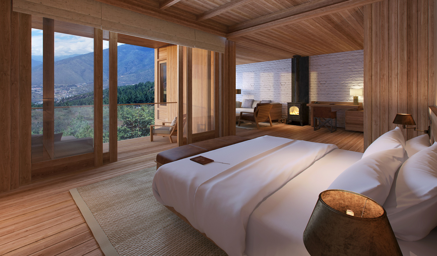 Wake up to spellbinding views at Six Senses Thimpu