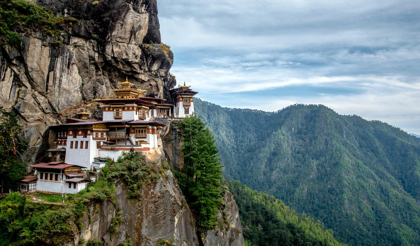 Embark on an iconic hike up to Takstang Monastery