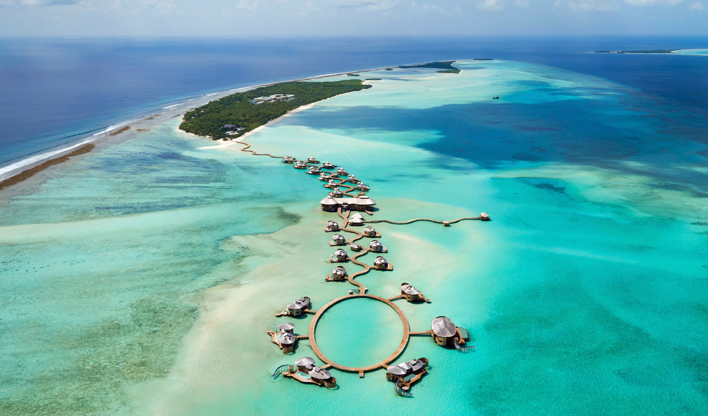 Sail into luxury as you hop between the Baa and Noonu Atolls