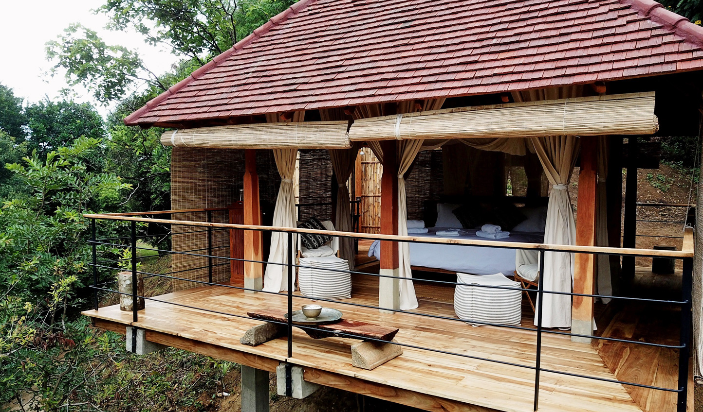Wake up to enchanting views across the Sri Lankan hill country