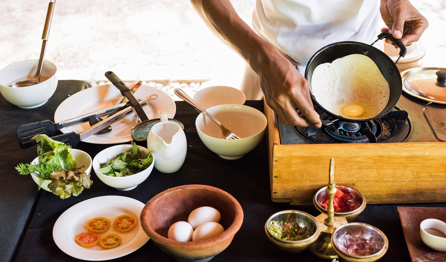 Join the chef and learn to whip up the local delicacy; Hoppers