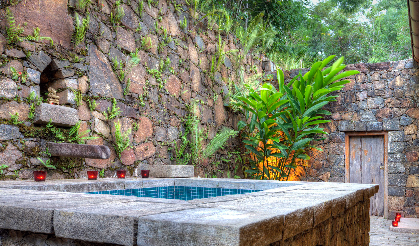 Soak away your stresses in your private jacuzzi