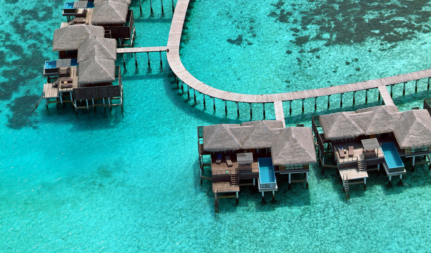 Your feet hardly seem to touch the ground at Coco Bodu Hithi
