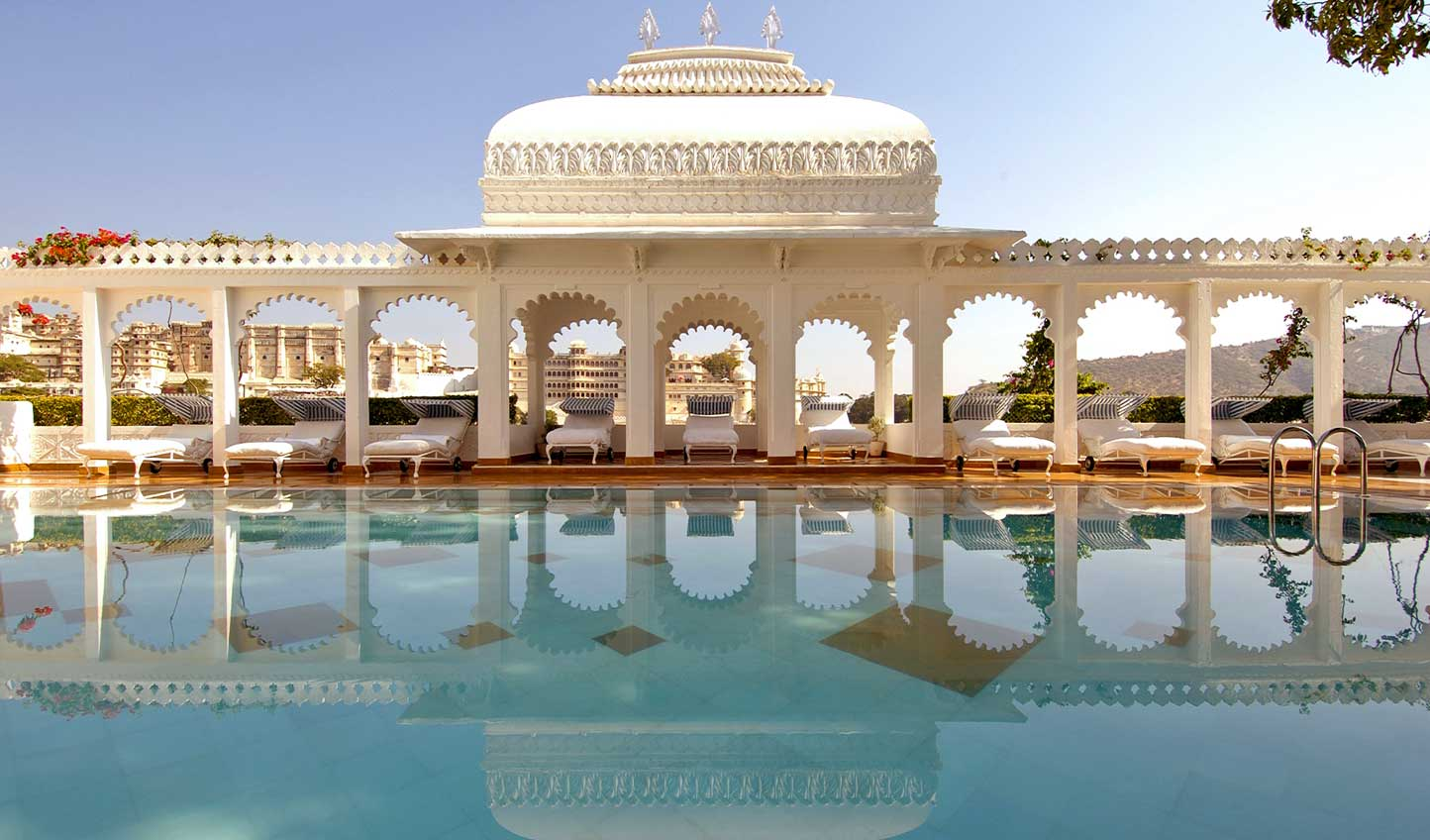 Enjoy some down time in the lap of luxury at Taj Lake Palace