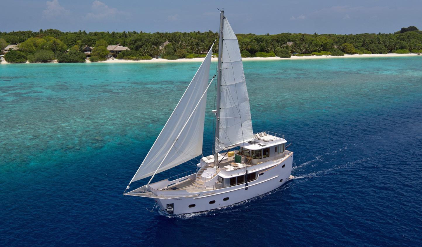Transfer in style on board Soneva in Aqua