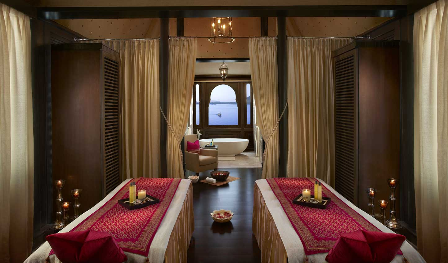 Unwind with a signature Ayurvedic treatment at the spa