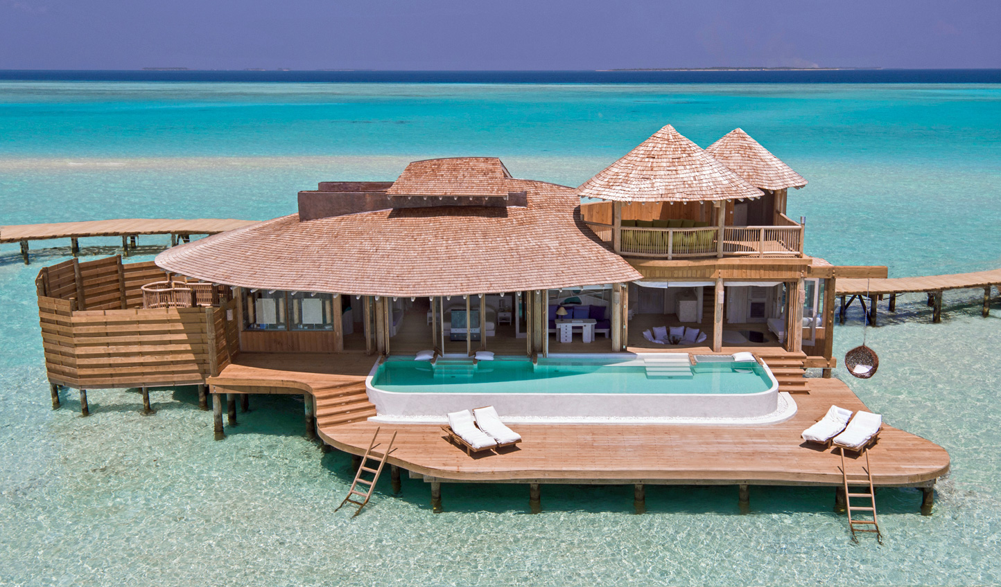 Retreat to an overwater paradise