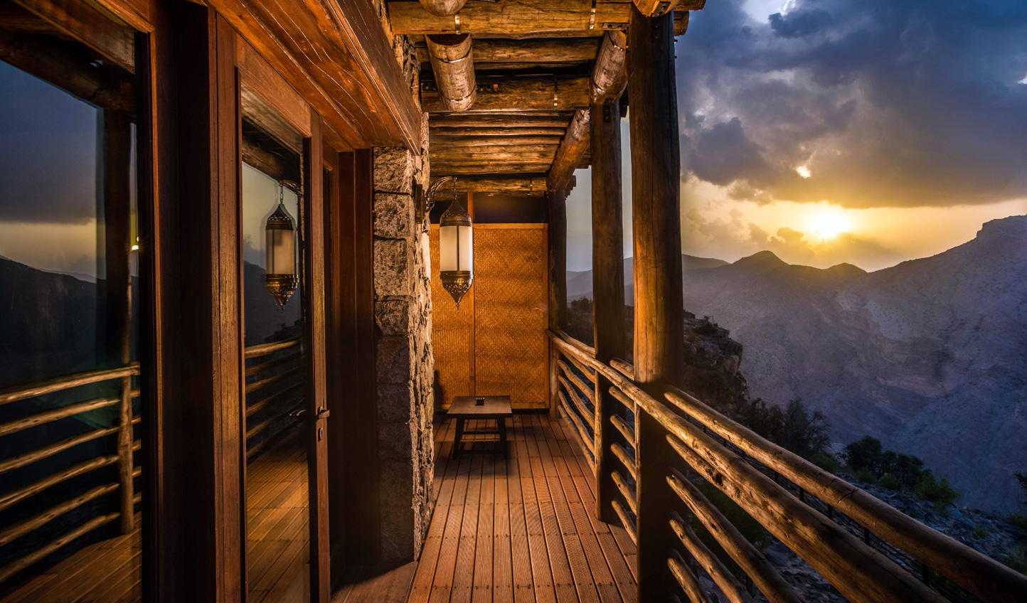 Breathe in the fresh mountain air up at Alila Jabal Akhdar