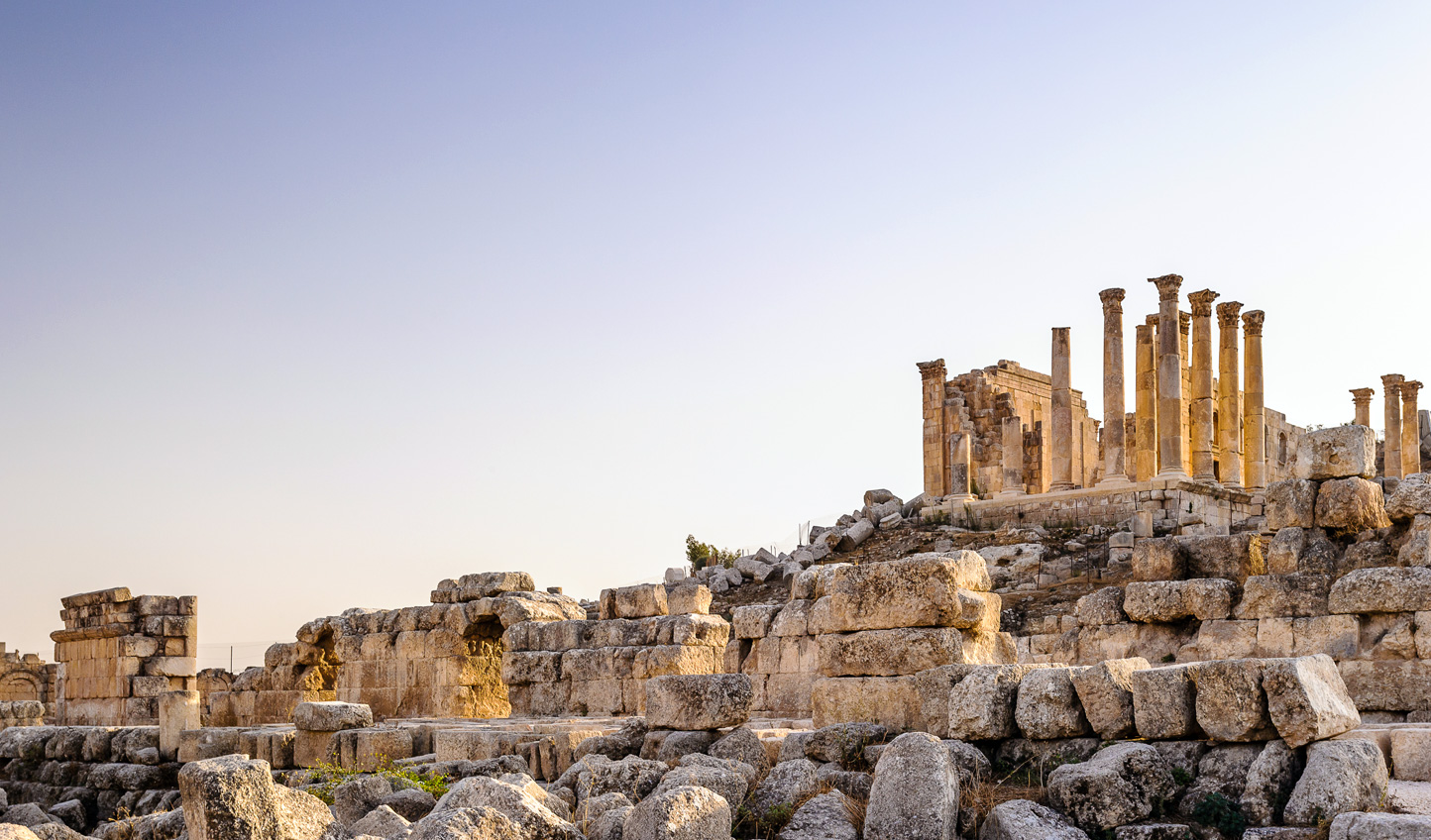Discover ancient civilizations out at Jerash