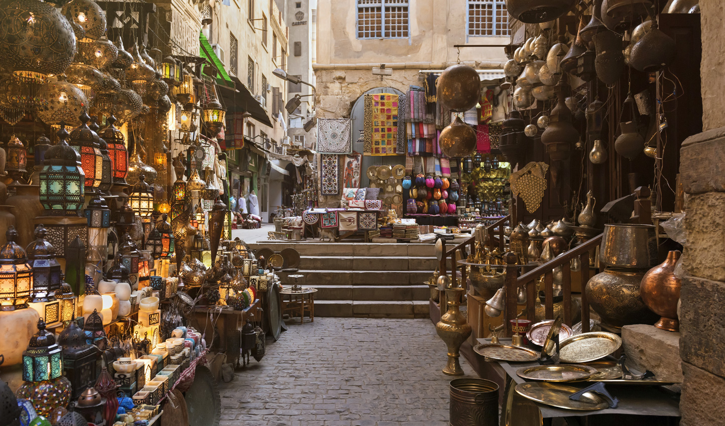 Meet up with master craftsmen in Khan al Khalili Market