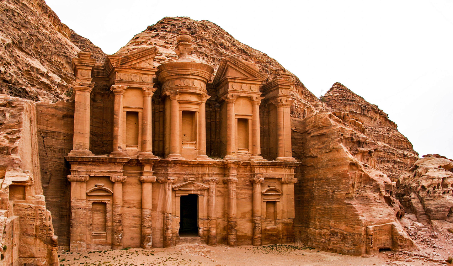 Take in ancient monuments and lost civilizations in a journey through Jordan and Oman
