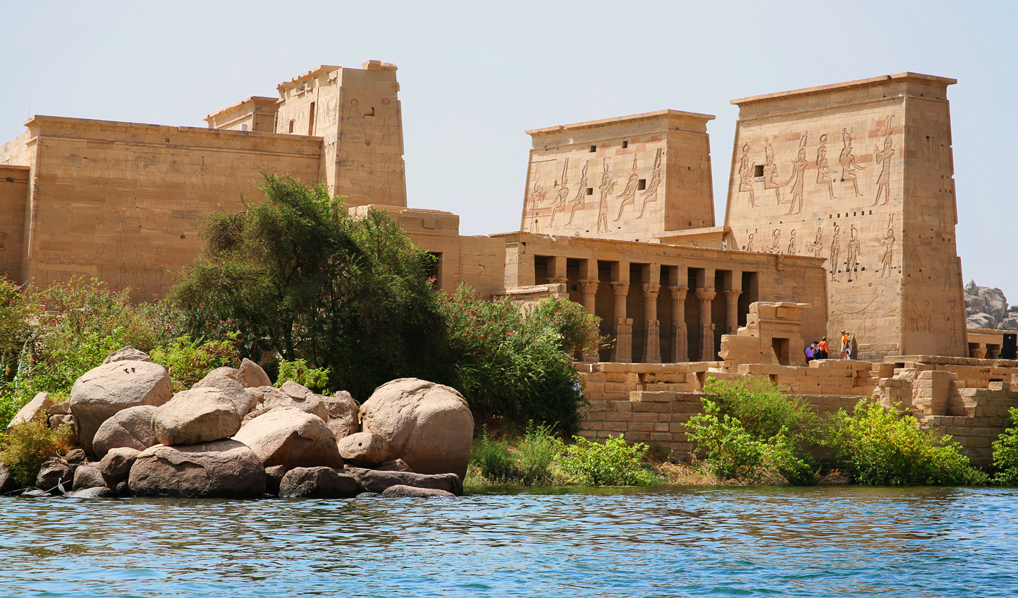 Head down to Aswan and pay a visit to The Pearl of the Nile; the Temple of Philae
