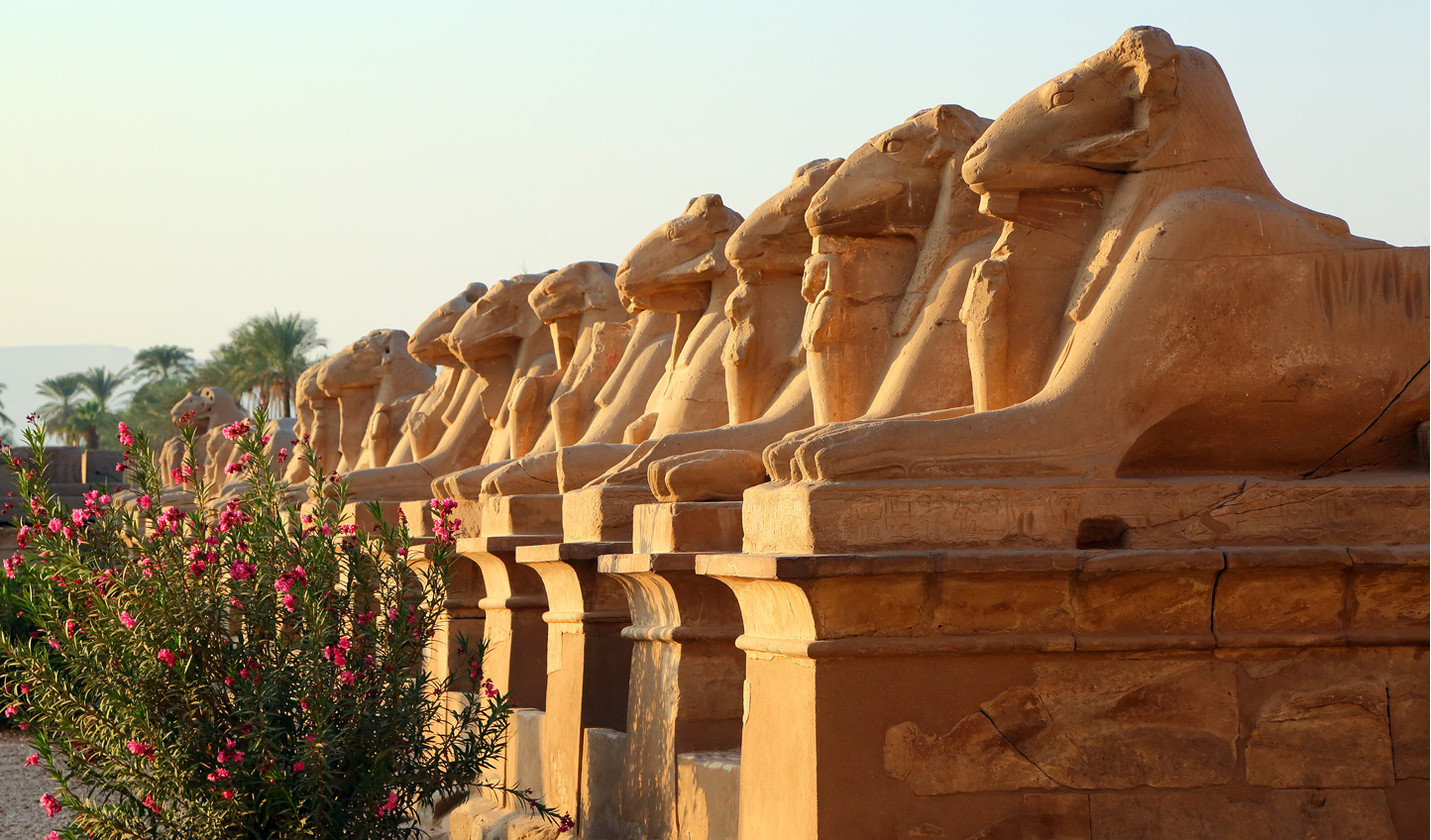 Explore the mighty temple complex of Karnak