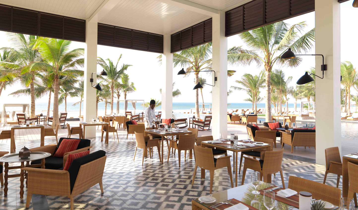 All-day dining just steps away from the sand
