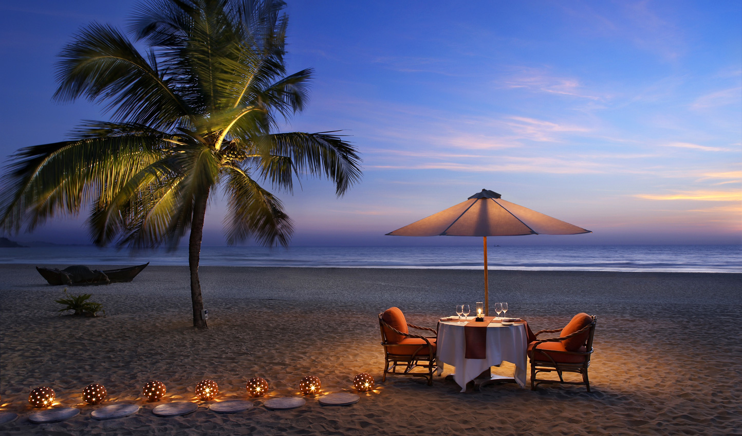 Escape to the serenity of The Leela Goa