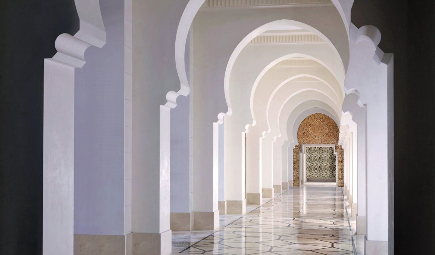 Traditionally Arabic architceture at