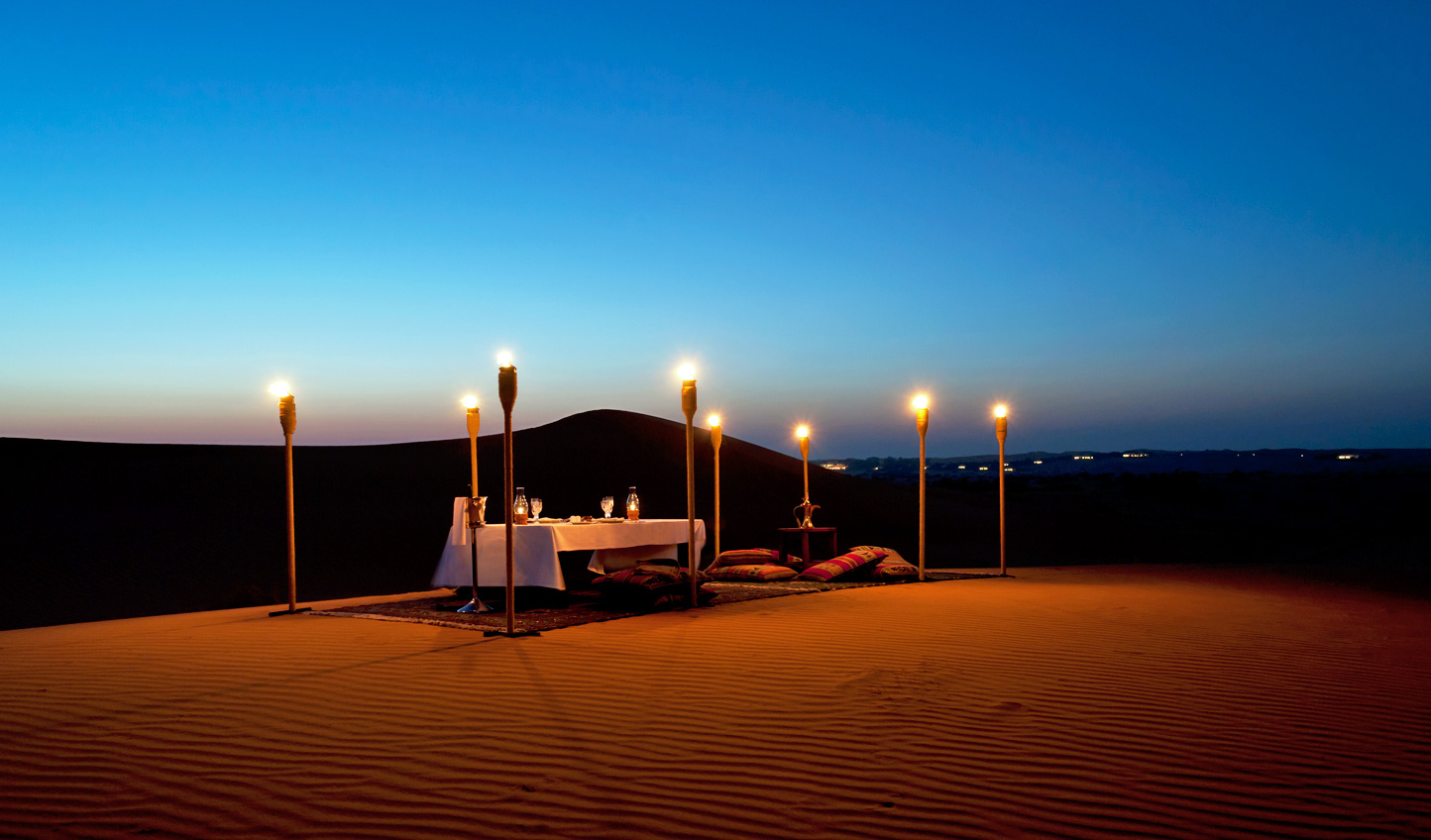 Get lost deep in the desert to experience a private picnic made just for you