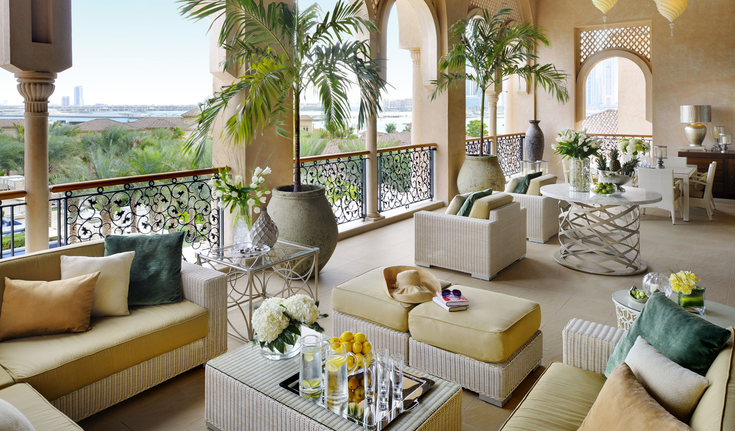 The seaview terrace makes for the perfect spot to while away an afternoon