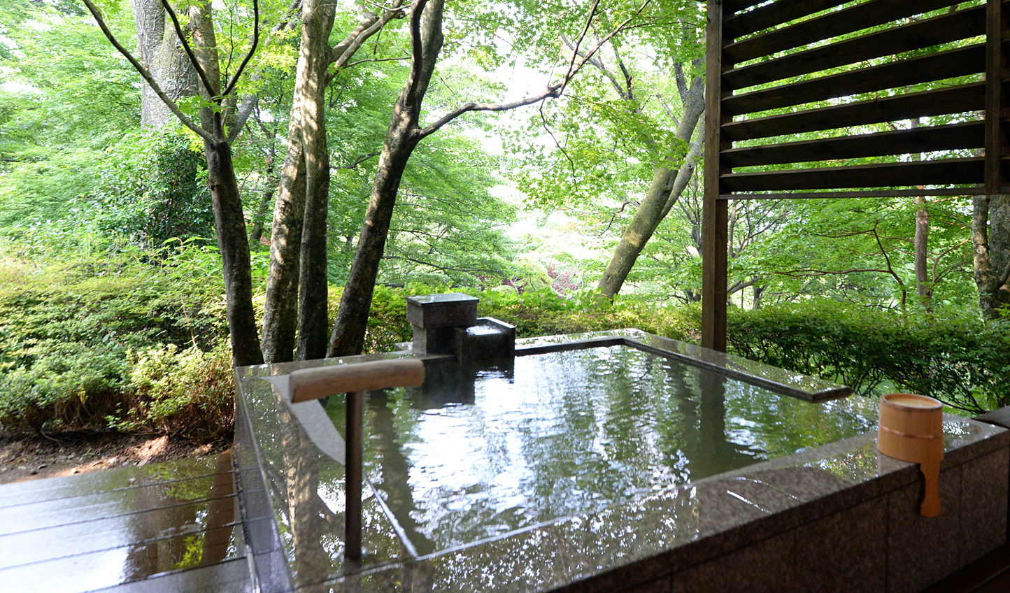 Embrace the Japanese tradition of onsen