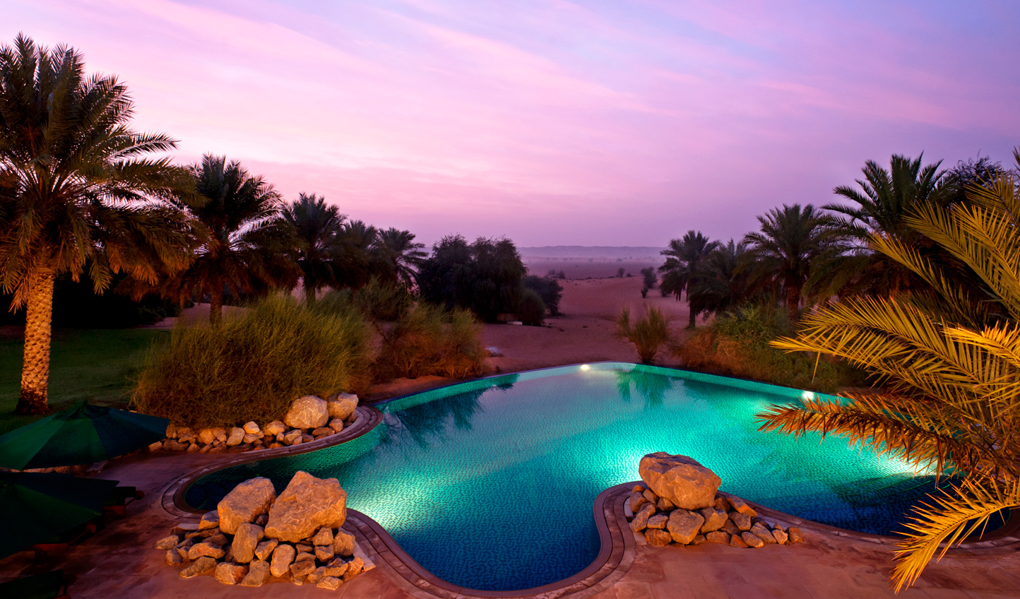 Your very own desert oasis