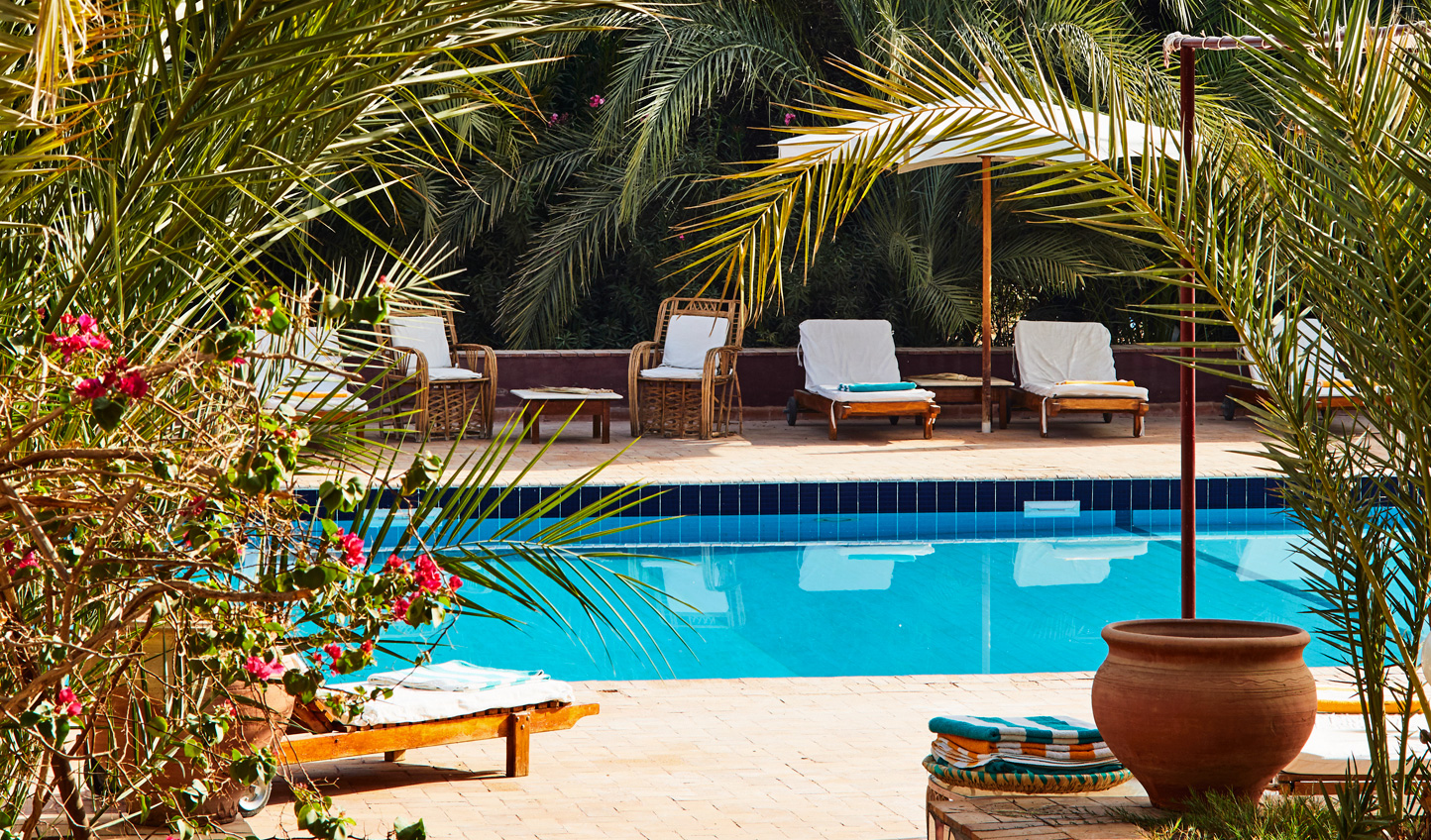 Escape the heat of the sun with an afternoon by the pool