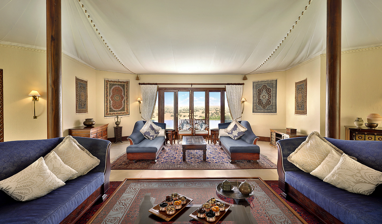 If you must leave the wonders of the desert and the resort, let it be for good reason and stay in the Presidential Suite