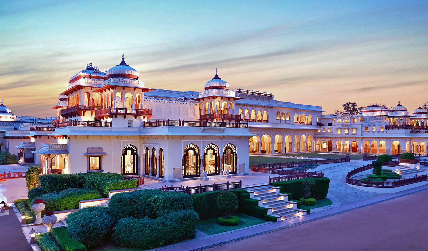 A stay fit for a Maharaja at Rambagh Palace