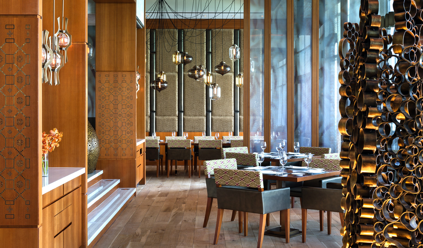 Sambusek captures the essence of Lebanese flair with fresh ingredients and stylish surroundings