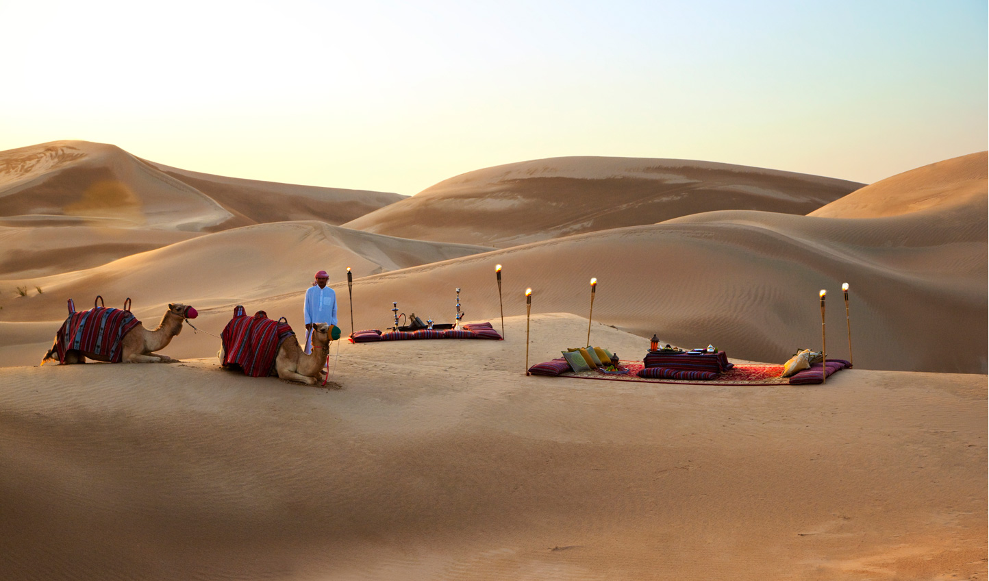 The United Arab Emirates is a unique luxury destination where desert meets city. Experience it with Rosewood's A Sense of Taste