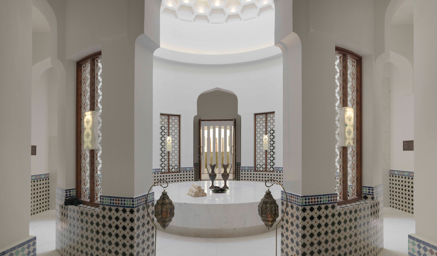 A trip to the Middle East wouldn't be complete without a trip to the Hammam spa