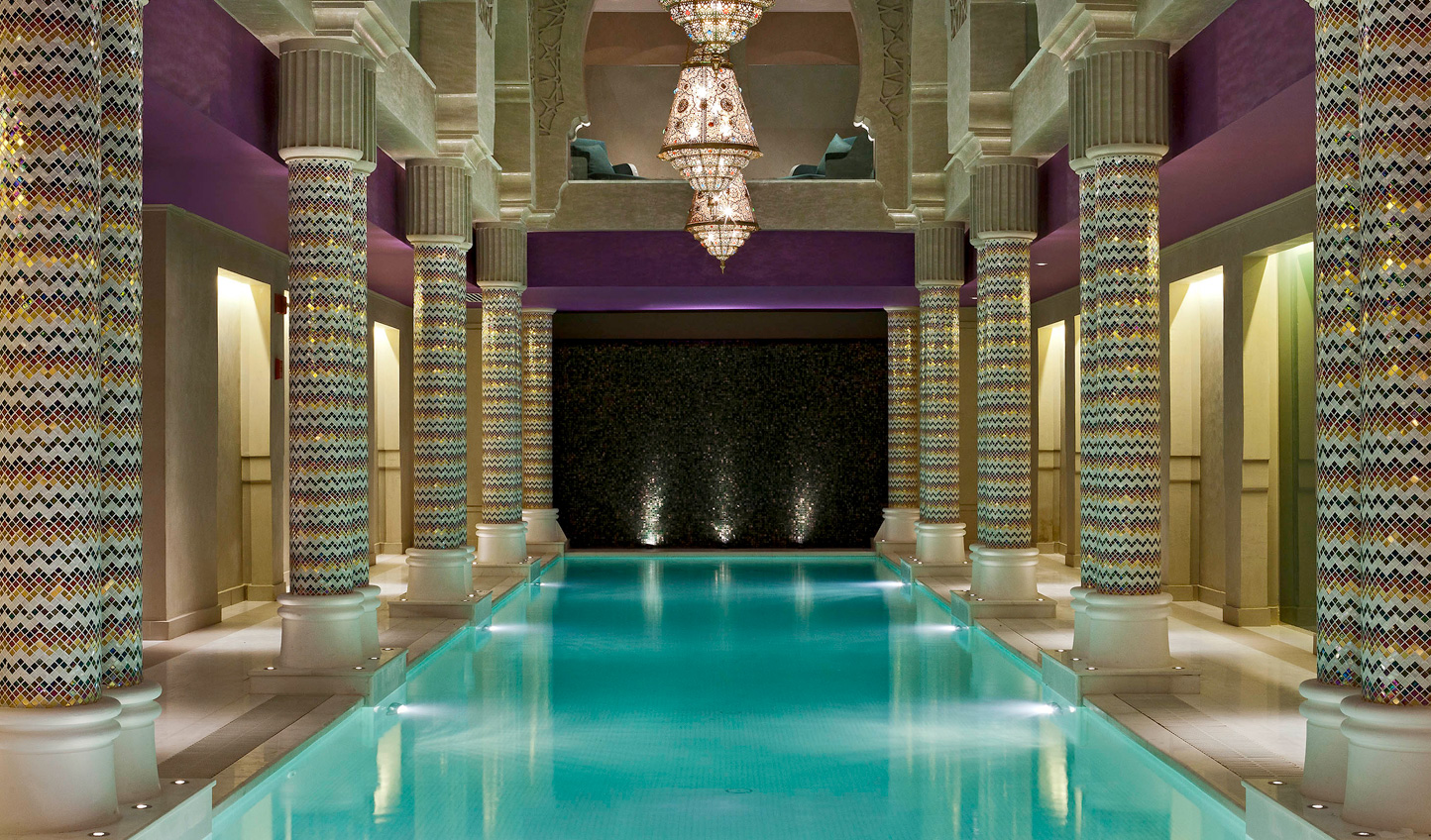 Unwind at the Spa after a day exploring the city