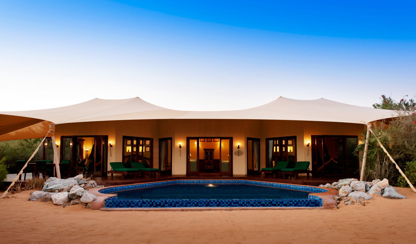 Desert camping at its most luxurious at Al Maha