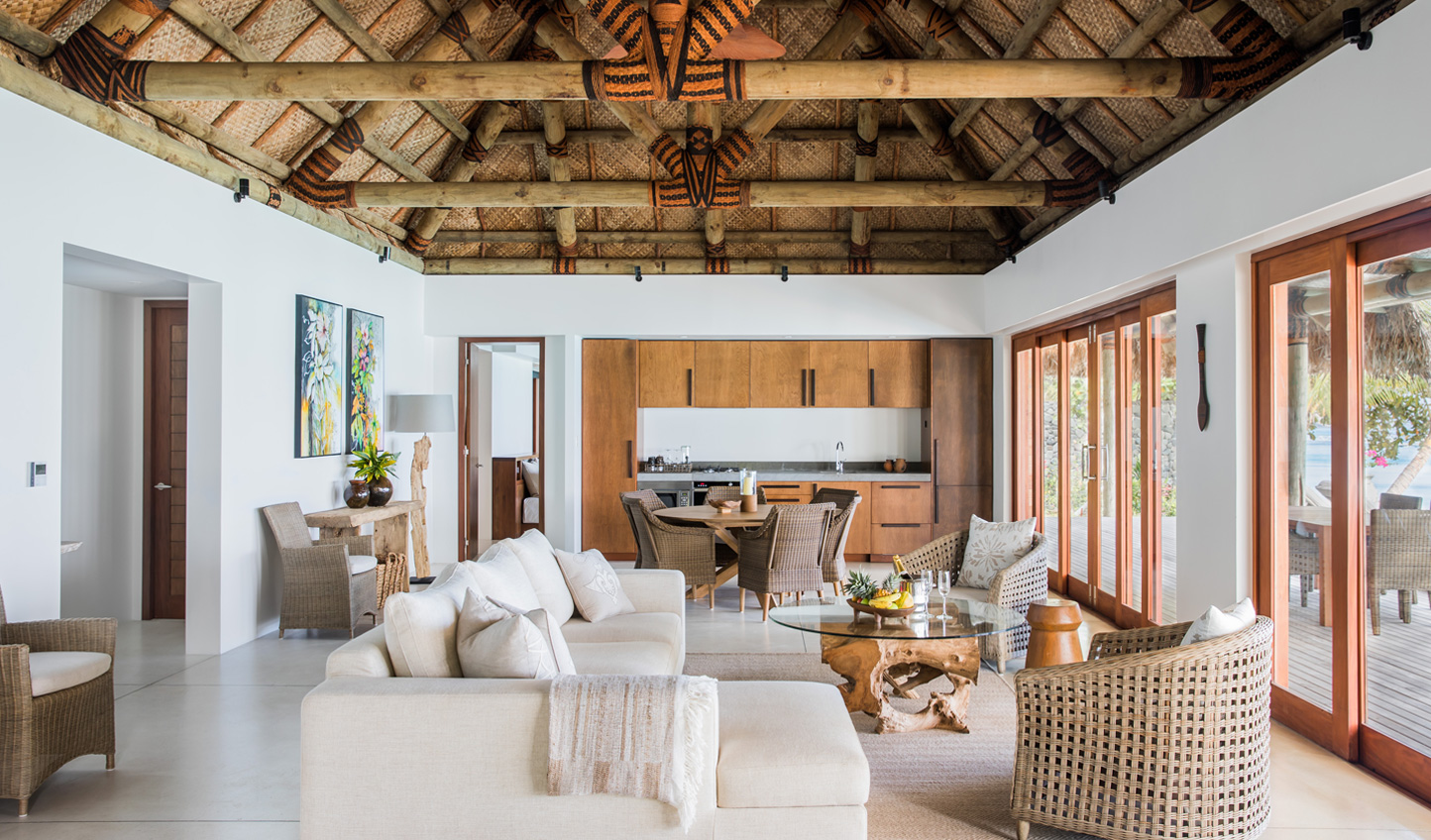 The luxury residences are the largest in all of Fiji